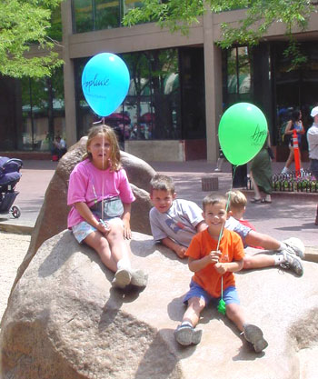 Kids on Boulders (photo source: City of Boulder)
