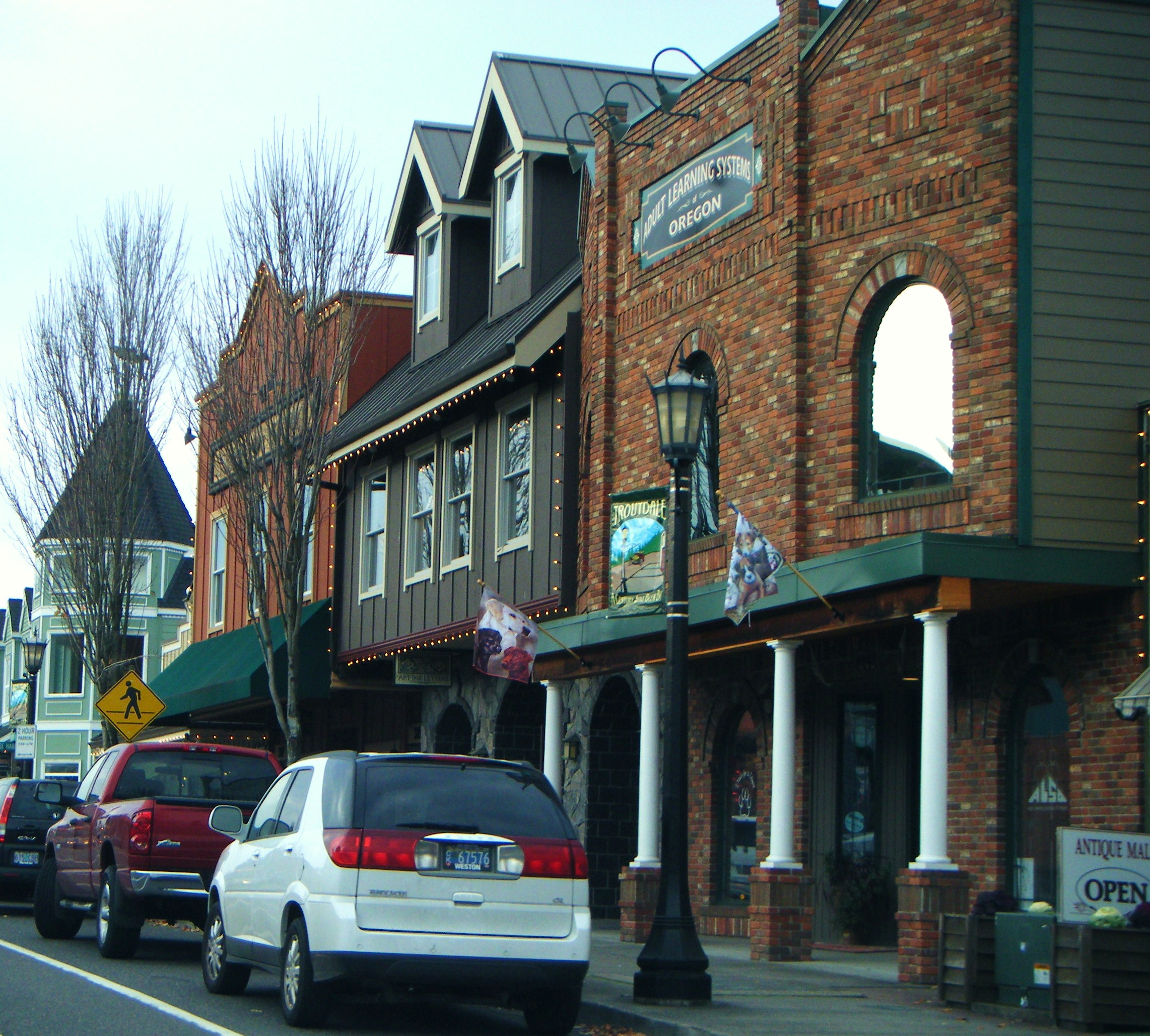 Downtown Troutdale (photo credit: McD22 via Flickr).