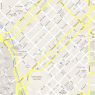 16th Street Mall, Denver, CO Source: Google Earth 2012
