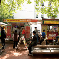 Food trucks, Portland, OR Source: MIG