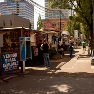 Food carts, Portland, OR Source: MIG