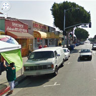 Street view, East Cesar Chavez Avenue, Source: Google Street View 2011