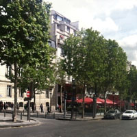 champs elysees histoire