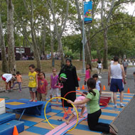 NYC Summer Street with play activities similar to Lyman Place Source: New York City Department of Transportation